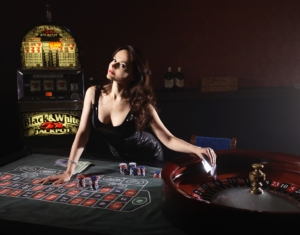 Poker Money Girl